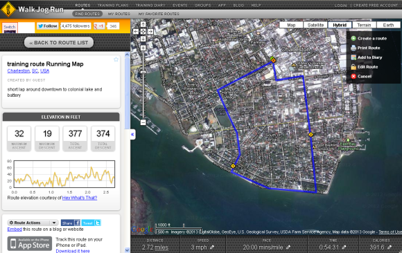 charleston_jogging_route