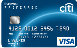 citi thank you preferred